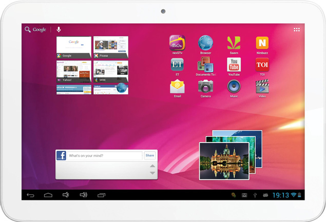 Videocon launches 10-inch VT10 tablet with Android 4.1 for Rs. 10,999