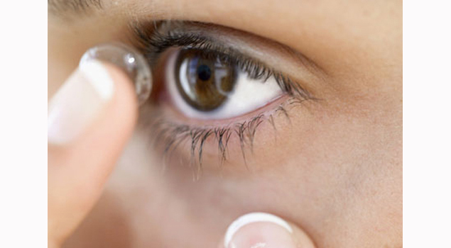 Contact lens that can receive your text messages