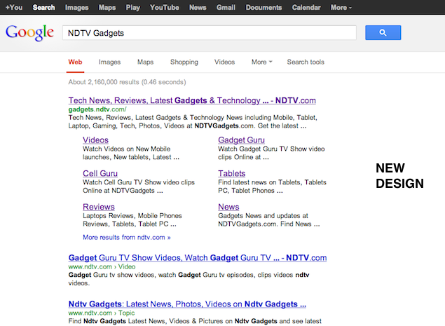 Google redesigns search results, get rids of sidebar for cleaner look