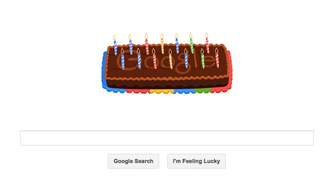 Google's 14th birthday marked by animated doodle