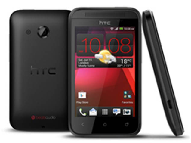 HTC Desire 200 with 3.5-inch display, 1GHz processor official