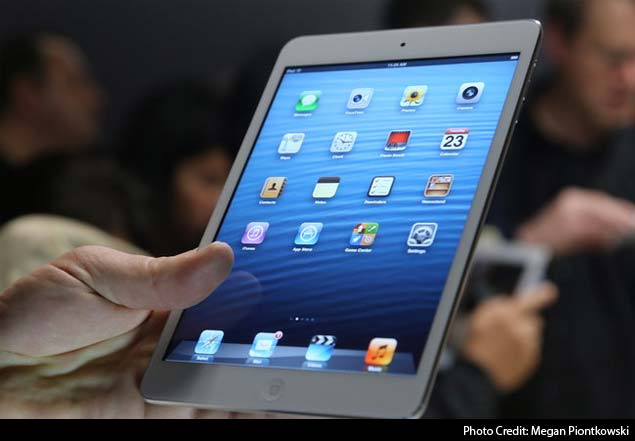 iPad no longer the only option for tablet shoppers this holiday season