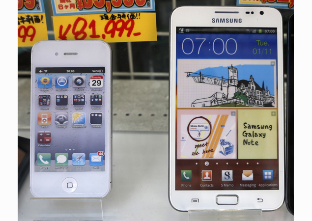 iPhone 5, Galaxy S III, Note 10.1 to be added to Apple, Samsung patent lawsuit