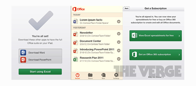 Microsoft Office app coming to iOS and Android by early 2013