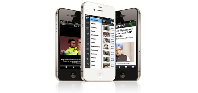 NDTV news app for iPhone gets a major facelift