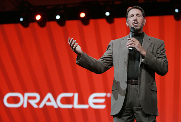 Oracle paid CEO Larry Ellison a cool $96 million last year