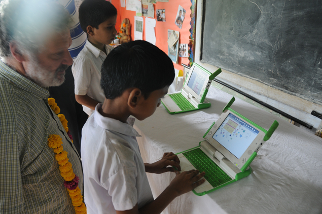 One Laptop Per Child initiative a hit in rural India