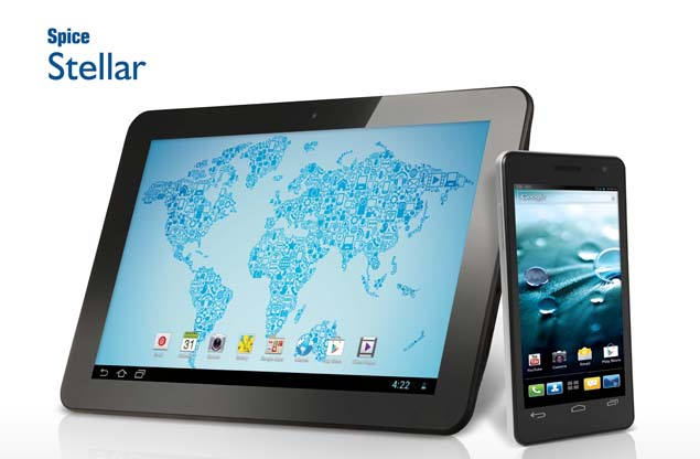 Spice launches 4.5-inch Stellar Virtuoso Mi 495 and 10.1-inch Stellar Pad tablet