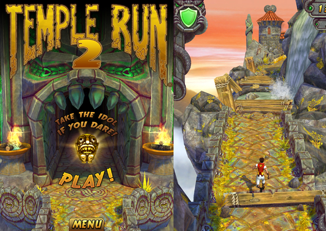 super popular 40c25 86dac Temple Run 2 for iOS crosses 20 million downloads in just four days