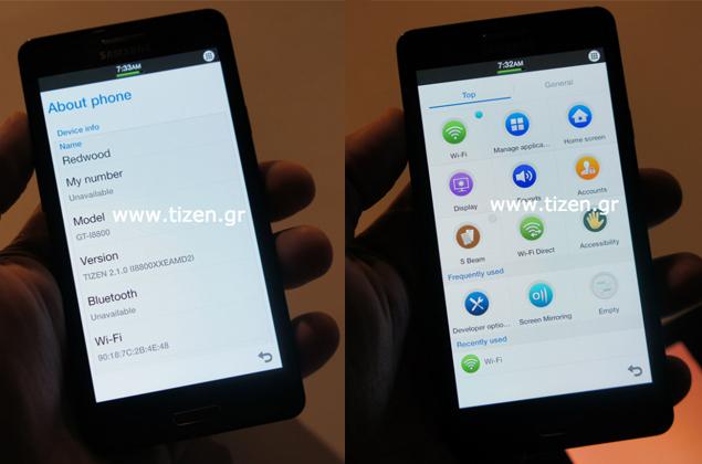 Tizen-based Samsung phone leaks online