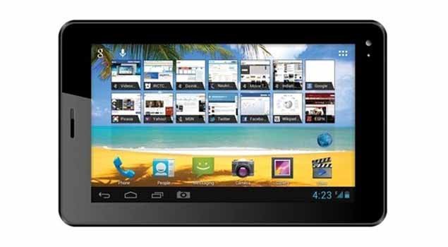 Videocon VT75C Jelly Bean tablet with voice calling spotted online for Rs. 5,965