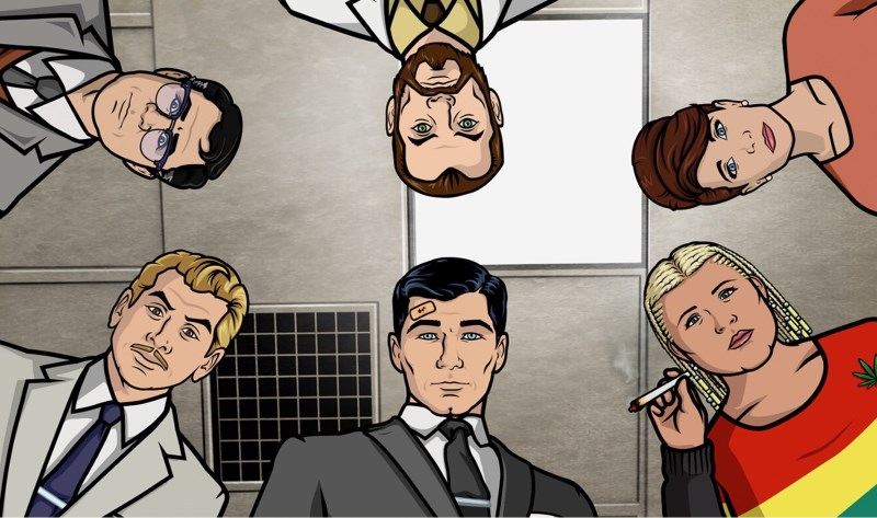The Weekend Chill / Archer (TV show)