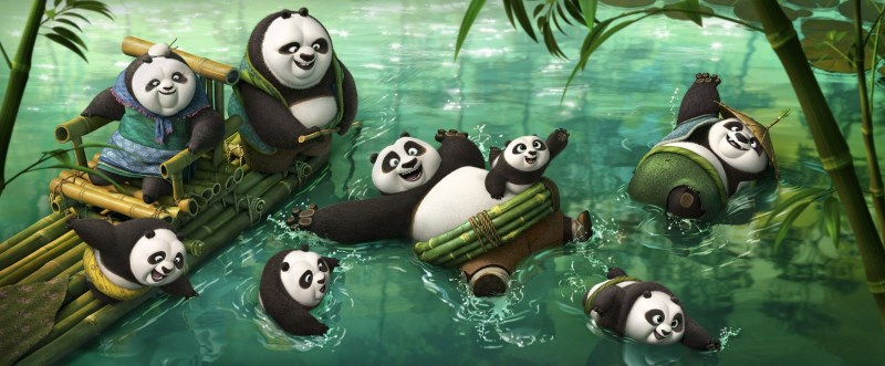 The Weekend Chill / Kung Fu Panda 3