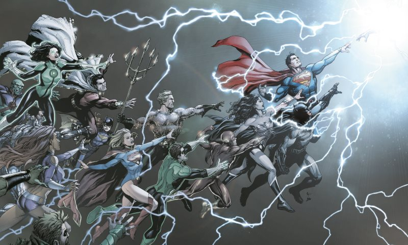 The Weekend Chill / DC Universe: Rebirth #1