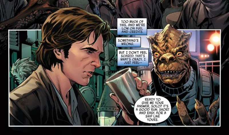 The Weekend Chill / Star Wars: Han Solo #1