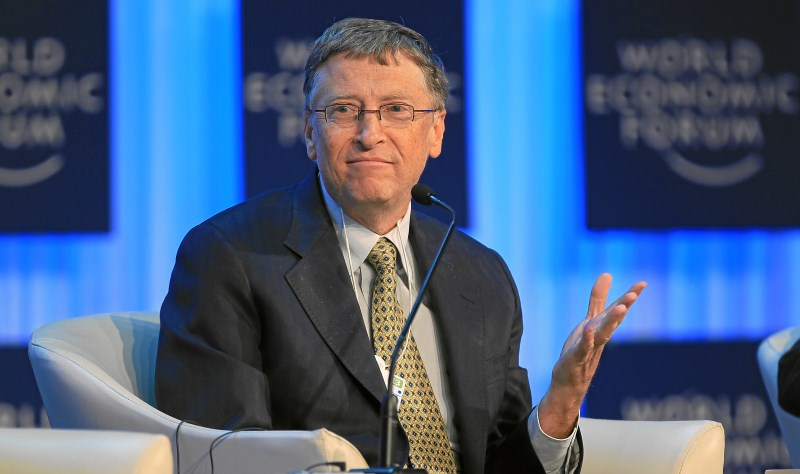 Microsoft Co-Founder Bill Gates Says He's Using an Android Phone