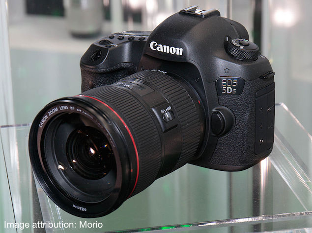 Canon Eos 5ds And 5dsr 50 Megapixel Full Frame Dslrs Launched In