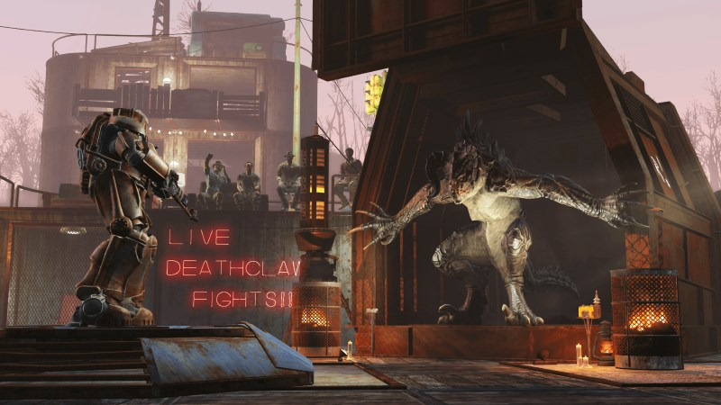 Fallout 4 DLC 'Wasteland Workshop' Arrives Next Week