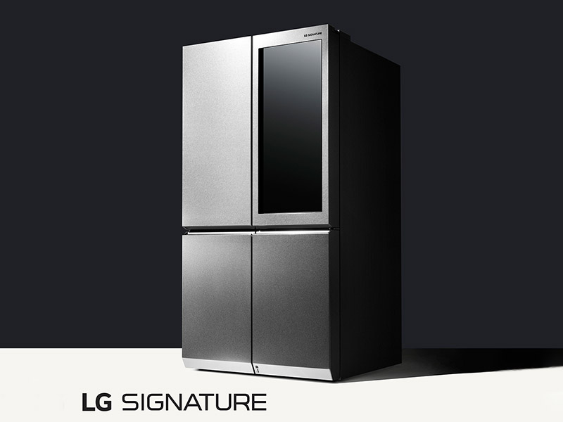 Ces 2016 Lg Unveils Refrigerator That Automatically Opens