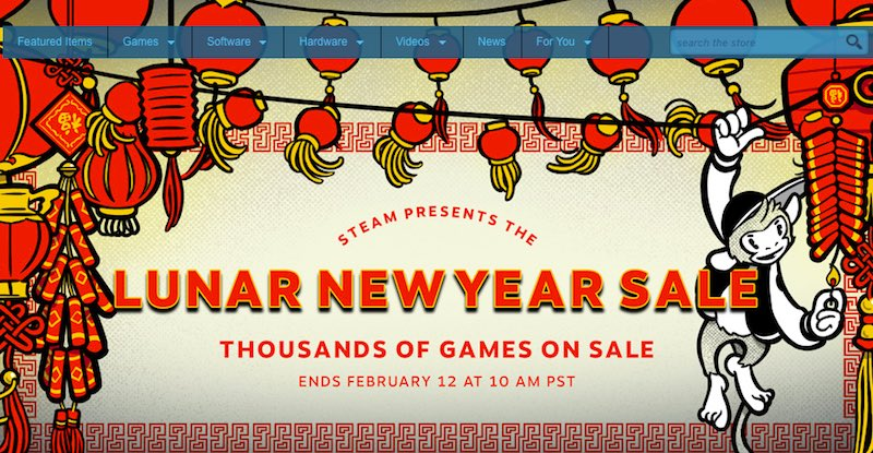 Steam's First Lunar New Year Sale Discounts GTA V, Fallout 4, and More