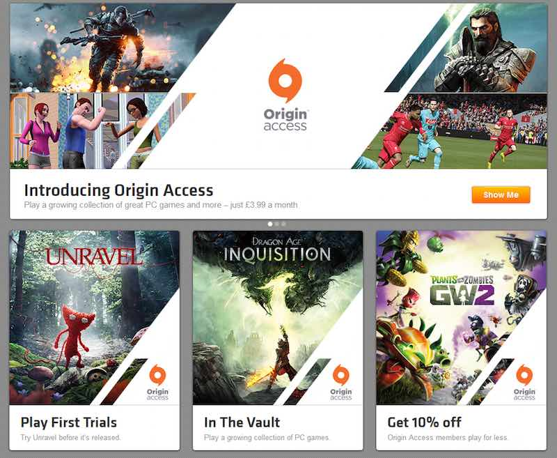 how to connect origin to xbox
