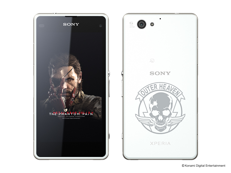 Sony Launches Metal Gear Solid V-Themed Xperia Phones and Tablets