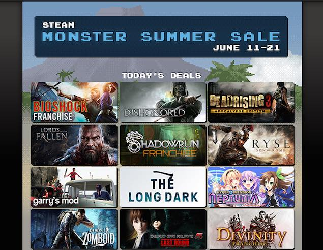 Steam Summer Sale Day Five Picks - Dishonored, Bioshock Infinite, and More