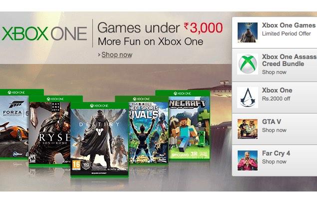 Halo, Forza Horizon 2, Other Xbox One Games Now Discounted on Amazon India