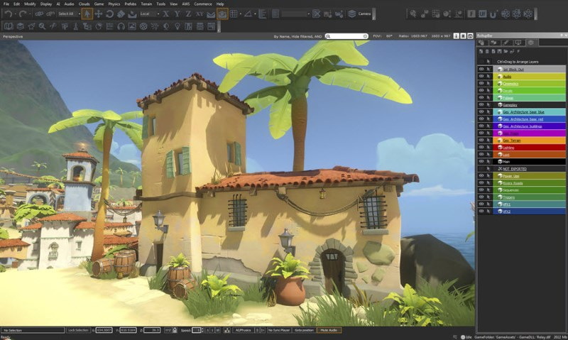 Amazon Lumberyard Is a Free Triple-A Game Engine for Everyone