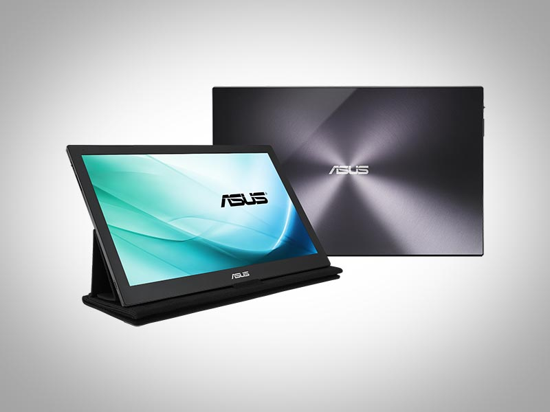 Asus Unveils 'First USB Type-C Portable Monitor' at CES 2016