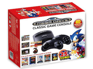 Sega Mega Drive Classic Game Console With 80 Built-In Games Revealed
