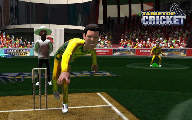 TableTop Cricket for PC and PS3 Launched Amid World Cup Action