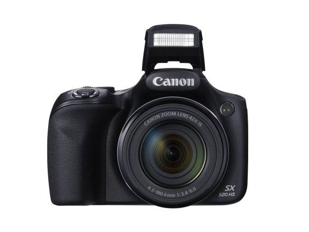 Canon PowerShot SX520 HS With 42x Optical Zoom Launched at Rs. 17,995