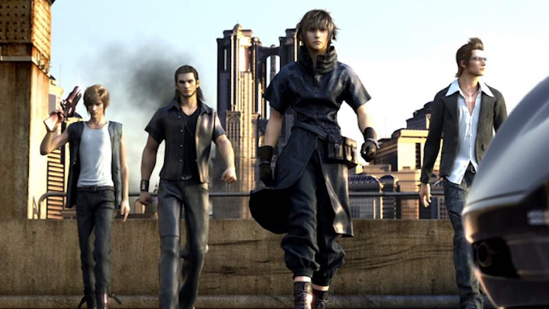 There's a Bit of The Last of Us in Final Fantasy XV