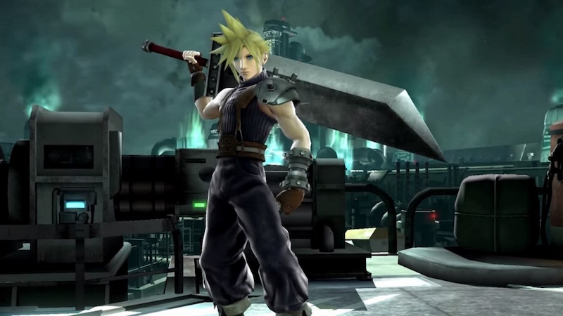 final fantasy vii s cloud strife now available in super smash bros