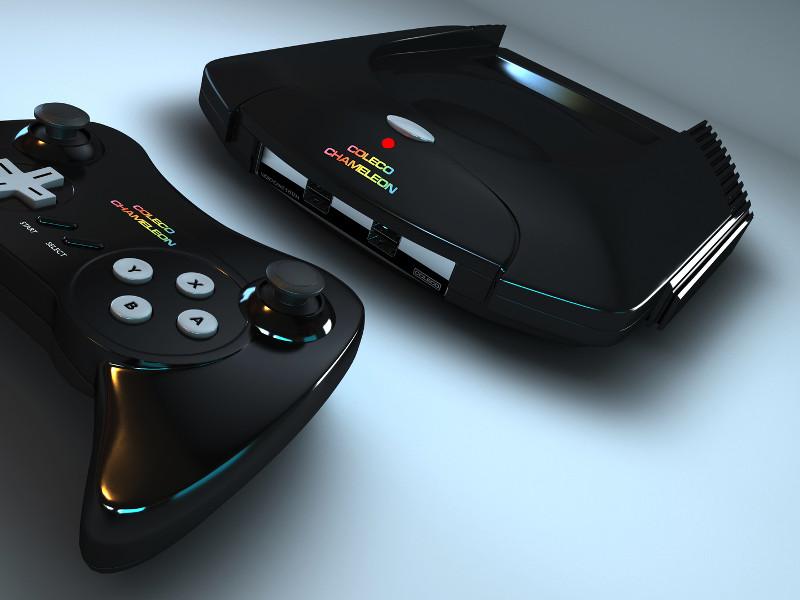 Coleco Chameleon Retro Console Dead