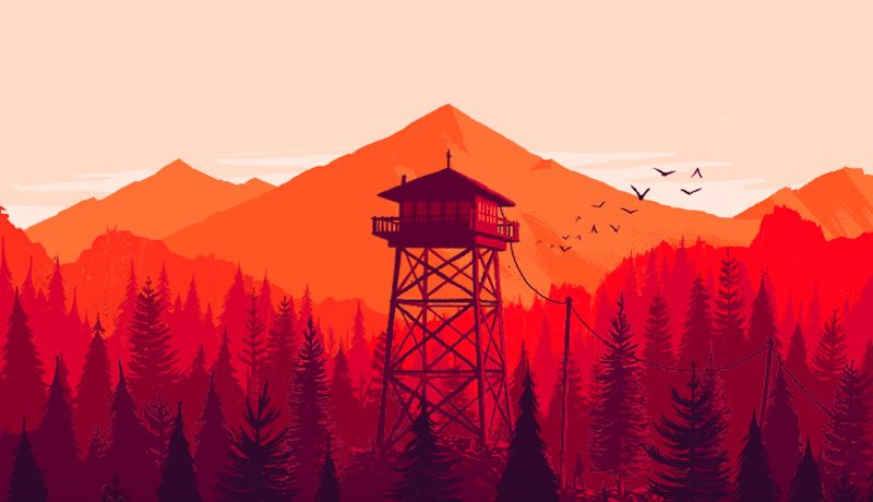 Behind The Scenes With Firewatch Most Anticipated Game Of 2016