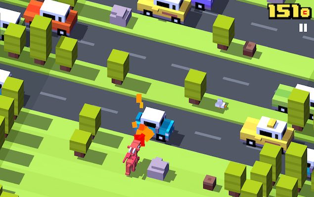 Crossy Road Now Available on Windows Phone and PC