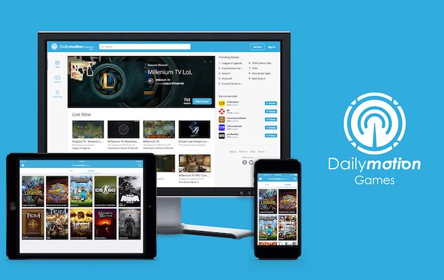 Dailymotion Games Live-Streaming Service Launched to Take on Twitch