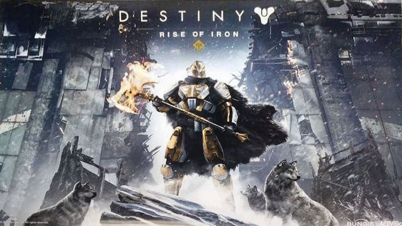 Destiny: Rise of Iron Release Date, Pre-Order DLC Revealed