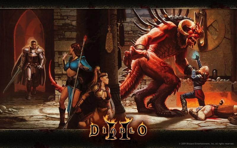 Diablo II Patch Brings OS X, Native Windows 10 Support