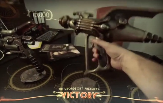 Magic Leap Teases Augmented Reality Steampunk Video Game