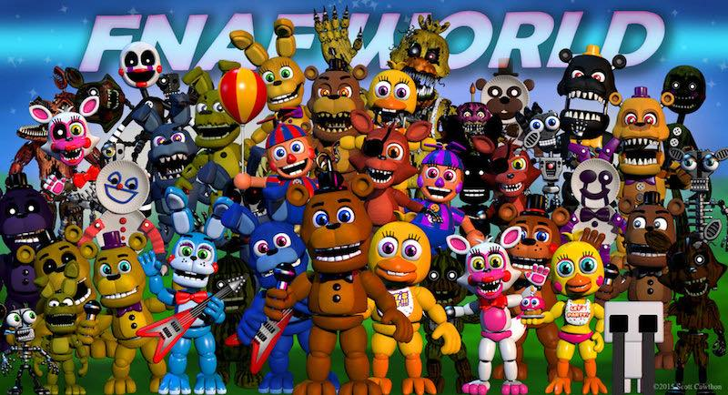 Five Nights at Freddy's World Pulled from Steam, to Be Free