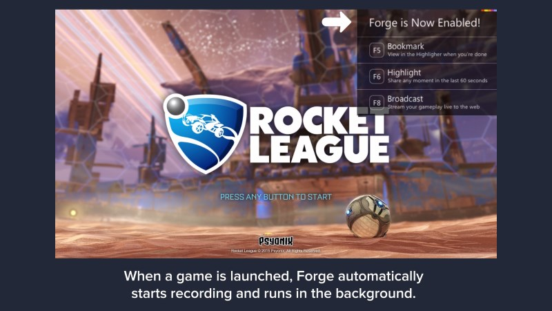 Forge for Windows Is an Easy Live-Streaming Tool for the Masses