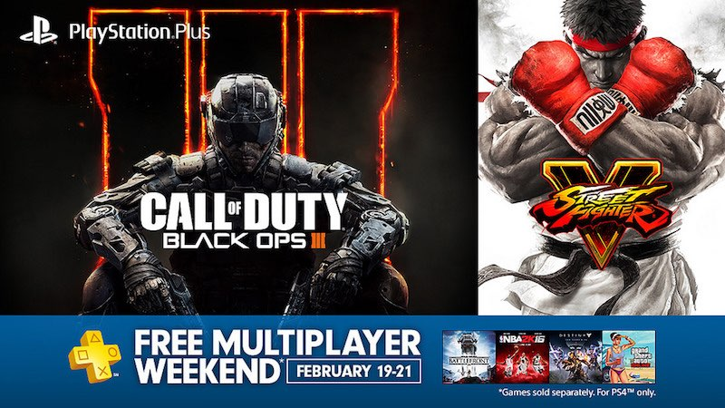 PS4 Online Multiplayer Free This Weekend