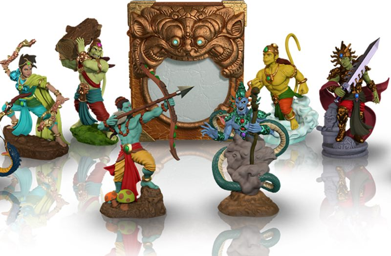 Gamaya Legends Mixes Nintendo Amiibos With The Ramayana
