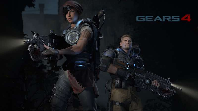 Gears of War 4 Xbox One Disc Requires You to Download 11GB