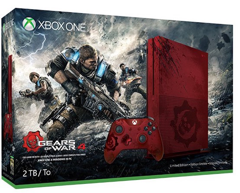 Gears of War 4 Xbox One S Console and Price Revealed