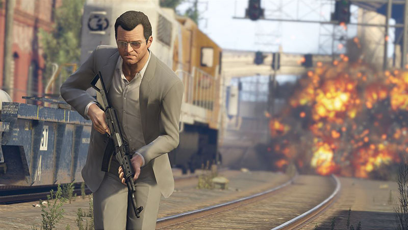 GTA V's Michael Knows Nothing About Single-Player DLC