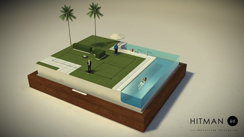 Hitman Go to Launch on Steam, PS4, and PS Vita Next Week